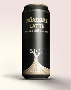 Whynatte Latte. Love the name! #packaging