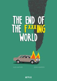 "Federico Gastaldi created an animated and still poster illustrations for the Netflix original series, ""The End of the F***ing World,"" produced by Clerkenwell Films."