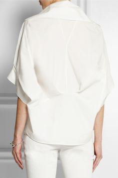McQ Alexander McQueen|Deconstructed cotton shirt|NET-A-PORTER.COM