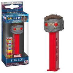 Vinyl Figure Star Lord FUNKO POP PEZ: Marvel New Toy