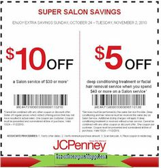 JCPenney hair salon coupons have been one of the most recommended official coupons from the JCPenney Department Store that you better have. These specific coupons Kfc Coupons, Home Depot Coupons, Store Coupons, Grocery Coupons, Online Coupons, Print Coupons, Discount Coupons, Mcdonalds Coupons, Free Printable Coupons