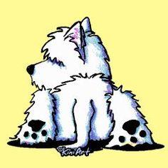 KiniArt DOGS - LOVE this artwork