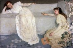 James McNeill Whistler - 'Symphony in White, No. 3' in the V&A Exhibition…
