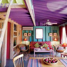 色彩豊かな部屋