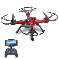 Amazon $49 click picture for best price. GoolRC T5W Wifi FPV Drone with Camera Live Video,Headless Mode & One Key Return & 3D Flips RC Quadcopter