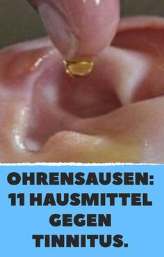 Ohrensausen: 11 Hausmittel gegen Tinnitus. Sense Of Life, Health Care, Health Tips, Home Remedies, Beauty, Workouts, Personal Care, Good Food, Health Fitness