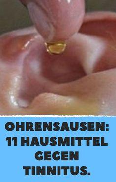 Ohrensausen: 11 Hausmittel gegen Tinnitus.