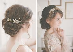 Wedding Hair Accessories. Etude Love.