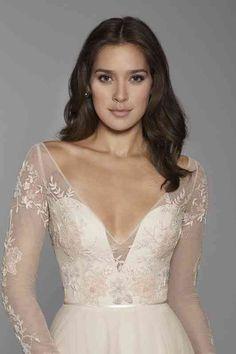 Luxury Wedding Dress, Dream Wedding Dresses, Elegant Wedding, Bridal Dresses, Wedding Gowns, Delicate Wedding Dress, Art Deco Wedding Dress, Unusual Wedding Dresses, Lazaro Wedding Dress