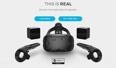 #HTCVive to hit market on April 5th, you can pre-order now #tech #gadgets #VirtualReality