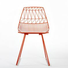 Lucy Side Chair Orange by Bend   Fab.com