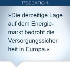 """(10.10.2013) Erkenntnis des """"European Energy Markets Observatory"""" (EEMO). Die Instabilität der Gas- und Elektrizitätsmärkte bedroht die Versorgungssicherheit der Region. Mehr unter: http://www.de.capgemini.com/news/european-energy-markets-observatory-instabilitaet-der-gas-und-elektrizitaetsmaerkte-bedroht-die"""