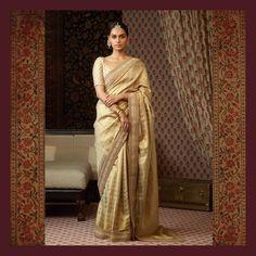 Sabyasachi : The Vasanthalakshmi Collection. Heritage Kanjeevaram sarees woven by the master weavers of Kanchipuram. Phulkari Saree, Sabyasachi Sarees, Indian Sarees, Silk Sarees, Saris, Lehenga, Pakistani, Sabyasachi Collection, Saree Collection