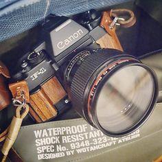 Canon F1 in Wood Interpretation    http://scription.typepad.com/blog/2012/11/canon-f1-in-wood-interpretation.html