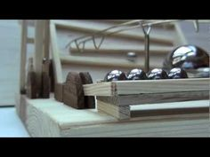 My first Marble Machine - Rolling Ball Sculpture, Marble Machine, Cube Storage, Building Toys, Pinball, Marble Runs, Automata, Marbles, Rollers