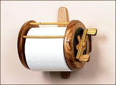 Bathroom Fishing Reel Toilet Paper Holder
