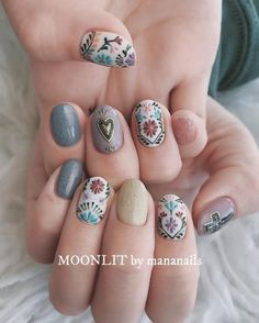 Nail art Christmas - the festive spirit on the nails. Over 70 creative ideas and tutorials - My Nails Cute Nails, Pretty Nails, Hair And Nails, My Nails, Fall Nail Art Designs, Instagram Nails, Pastel Nails, Acrylic Nails, Nail Art Toes