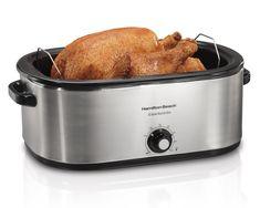 Hamilton Beach 28 Lb Turkey Roaster 22 Quart Oven   Model# 32229R