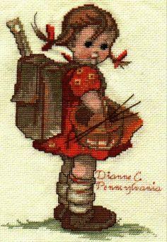 School Girl Hummel by DianthusMoon, via Flickr