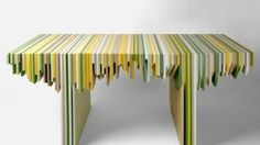 """Architizer Blog » """"Leftover"""" Corian Recast as Collection of Modern Furniture"""