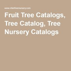 For Fruit Tree Catalogs, Our Standard Tree Catalog, Or Any Of Our Tree  Nursery Catalogs, See Our Online Tree Catalog. We Offer Our Tree Nursery  Catalogs ...