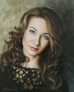 Dry Brush #portrait by Drawing-Portraits on DeviantArt (Igor Kazarin)