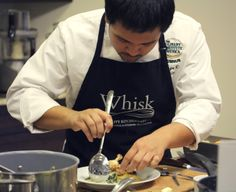 Chef George teaches at Whisk.