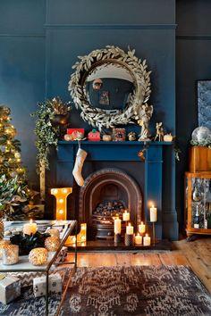 Une maison londonienne déjà prête pour Noël - PLANETE DECO a homes world