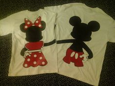 Disney Inspired Couples TShirts Fullbody Minnie Holding Hands Mickey Minnie Tshirts For  Any Loving Couple on Etsy, $45.00