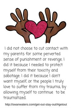 Leaving your abuser is not a clear cut process. It is tough. It takes on average 7 attempts for a target to leave their abuser.  Get help by finding out more about no contact, dealing with parenting issues and proxy abusers.  This is a great way to claim success. As is connecting to fellow survivors for support and validation.