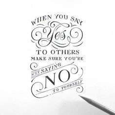 yes to others /