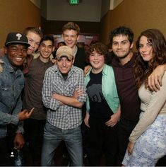 Miss u so much guys :( Maze Runner Funny, Maze Runner Thomas, Maze Runner The Scorch, Maze Runner Cast, Maze Runner Movie, Maze Runner Series, James Dashner, Thomas Brodie Sangster, Just Deal With It