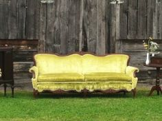 lime couch