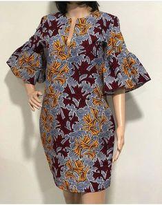 Stunning african fashion looks 9743 African Fashion Ankara, Latest African Fashion Dresses, African Print Fashion, Africa Fashion, African Style, Short African Dresses, Ankara Short Gown Styles, African Print Dresses, African Prints