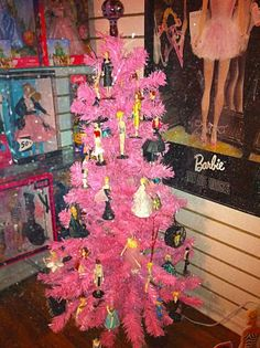 I LOVE my Barbie tree! It's my only tree and it's just PERFECT!!