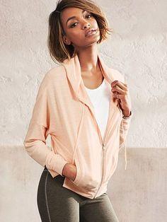 A supersoft essential. | Victoria's Secret Zip Hoodie