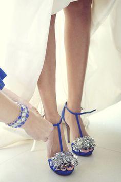 wedding shoes blue bridal shoes adelaide - brides of adelaide magazine