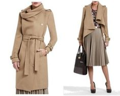 fabulous BCBG coat... that I don't need...