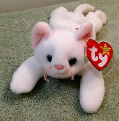 6a8516dbb6a Flip the Cat Beanie Baby! Multiple Errors Mint Extremely Rare Display Case
