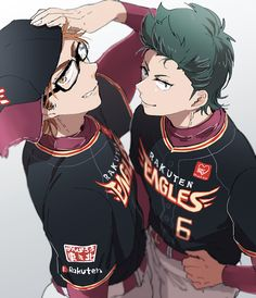 Diamond no Ace - Miyuki & Kuramochi