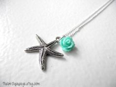 THE CHARMED NECKLACE  Starfish you choose addon by TheBirdsPapaya, $9.00-gonna have to get one of these :)