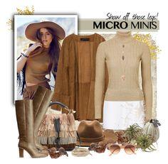 """Micro-Mini Style"" by gokarm ❤ liked on Polyvore featuring BasicGrey, Origins, Zara, Zimmermann, rag & bone, Chloé, H&M, Topshop Unique, Pamela Love and Chan Luu"