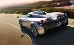pagani huayra - saw this car on Top Gear (BBC). Crazy fast. Interior is steampunk-esque. Only 1.3 million dollars!