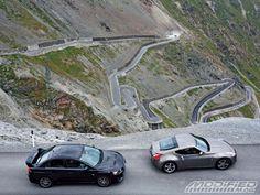 This should be fun. Mitsubishi EVO X & Nissan Evo X, European Road Trip, European Vacation, Chevy Chase, Nissan 370z, Evolution, Racing, World, Roads