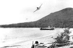 Mt Tomaree during war