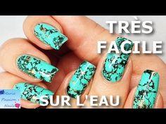 Stone Marble Nails?! - YouTube