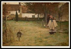 "Louis Welden Hawkins  "" Les orphelins "" 1881"
