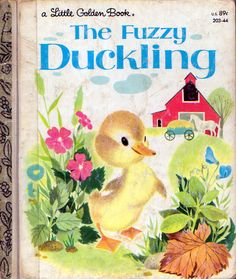 The Fuzzy Duckling, Provensen, 1949- 1982 Cover