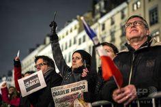 「私はシャルリー」 仏新聞社銃撃、追悼集会に計10万人超 国際ニュース:AFPBB News
