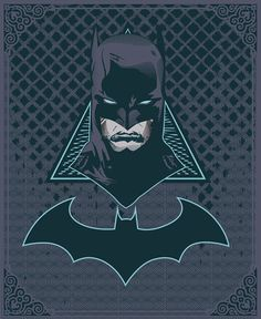 The Dark Knight by Jeremy Darko, via Behance Comic Book Characters, Comic Character, Comic Books Art, Comic Art, Batman Love, Batman Dark, Batman 2, Batgirl, Catwoman
